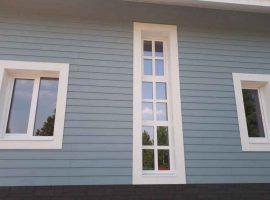 Нестандартные окна частном доме
