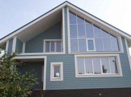 Панорамные окна в частном доме